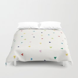 Cute Confetti Pattern Duvet Cover