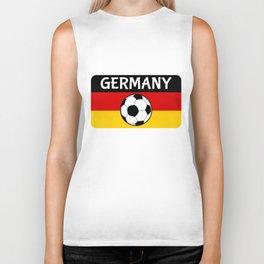 German Flag Football Biker Tank