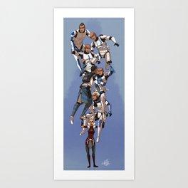Torrent Company Art Print