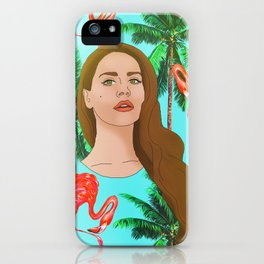 Lana Del Tropico iPhone Case