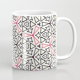 Flight from the Black & White & Red All Over Collection Coffee Mug