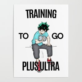 Plus Ultra Training Poster