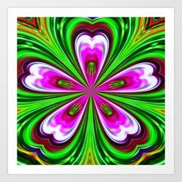 Abstract - Petals Art Print