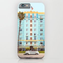 The Georgian Hotel iPhone Case