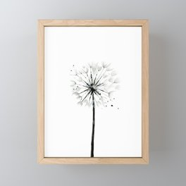 Dandelion Framed Mini Art Print
