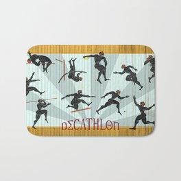 Decathlon Horizontal Poster Bath Mat