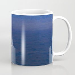 Yacht Storm Art Coffee Mug
