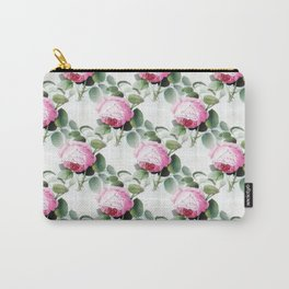 Old English Roses Carry-All Pouch