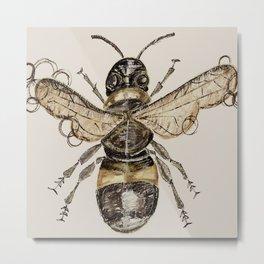 The Elizabethan Bee Metal Print