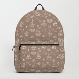 Tea time warm taupe Backpack