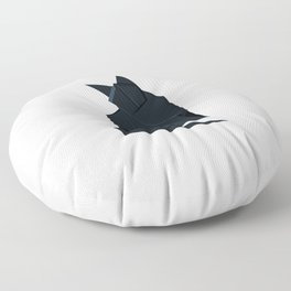 Origami Chat Noir Floor Pillow
