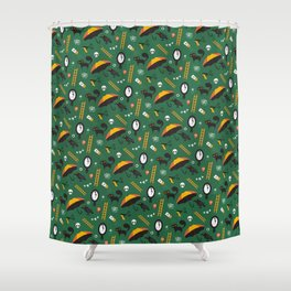 The Usual Suspects (Patterns Please) Shower Curtain