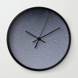 Gouttes d'eau Wall Clock