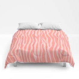 Zebra 005 Comforters