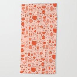 Love Potion: Valentine Beach Towel