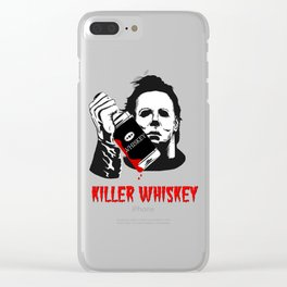 Halloween: Killer Whiskey Clear iPhone Case