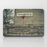 police iPad Cases featuring Police by Gautier Houba
