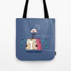 :::Mini Robot-Vrahion::: Tote Bag