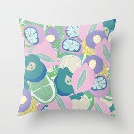 Trippy sangria Throw Pillow