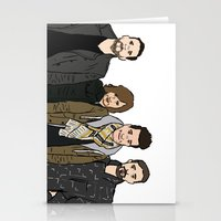 bastille Stationery Cards featuring Bastille by wellsi