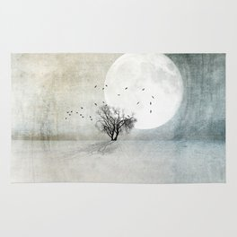Only the Moon Knows Rug
