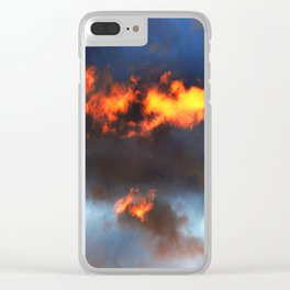Sunset #215 Clear iPhone Case