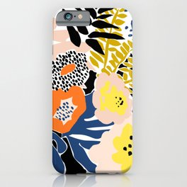 More design for a happy life - with black iPhone Case