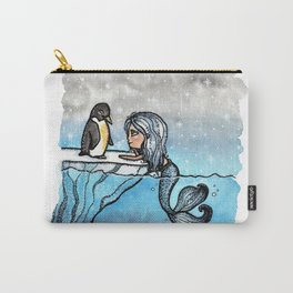 Antarctic Mermaid Carry-All Pouch