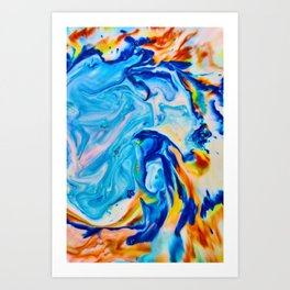 Milkblot No. 3 Art Print