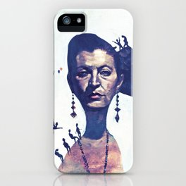 Lady Horizon iPhone Case