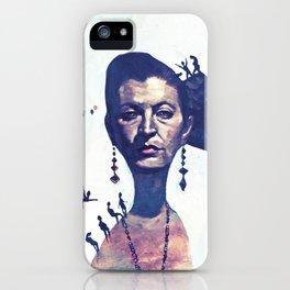 Lady Horizon iPhone Case