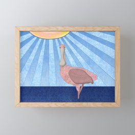 Roseate Spoonbill Framed Mini Art Print