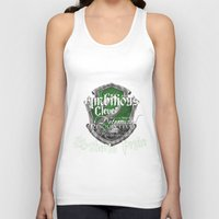 slytherin Tank Tops featuring Slytherin Pride by iiNTRIGUE
