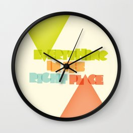 Everything . . Wall Clock