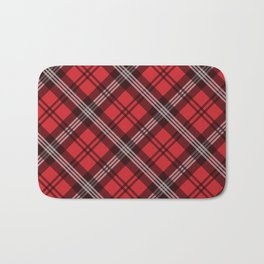 Scottish Plaid-Red Bath Mat