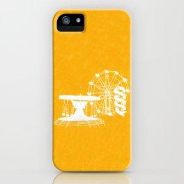 Seaside Fair in Yellow iPhone Case