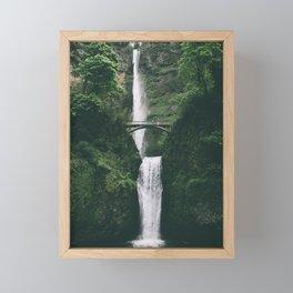 Multnomah Falls III Framed Mini Art Print