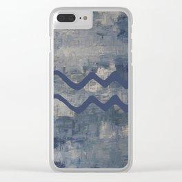 Aquarius Clear iPhone Case