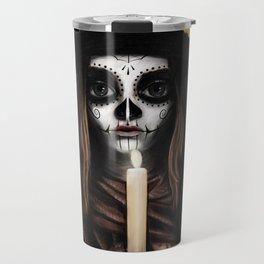 Día de los Muertos Travel Mug