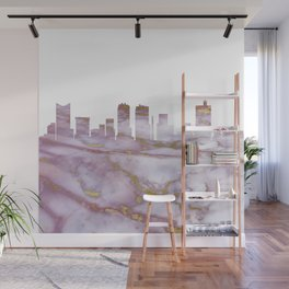 Fort Worth Skyline Texas Wall Mural