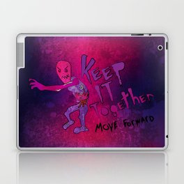 Keep It Together (Zombie Motivational) Laptop & iPad Skin