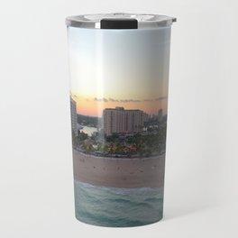 fort lauderdale beach Travel Mug
