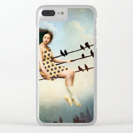 Hang in there Clear iPhone Case