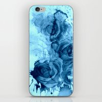 roses iPhone & iPod Skins featuring roses underwater by clemm