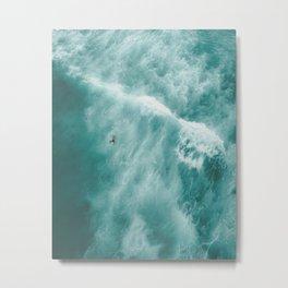 Surfer Surfing Bondi Beach Metal Print