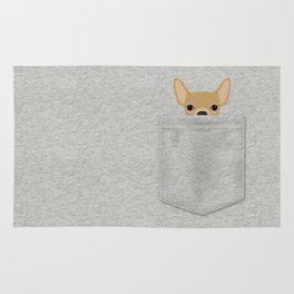 Pocket Chihuahua - Tan Rug