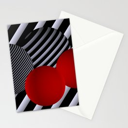 shining geometry Stationery Cards