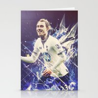 christian Stationery Cards featuring Christian Eriksen by Max Hopmans / FootWalls