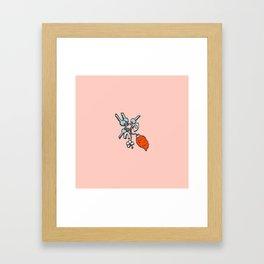 Inktober Day 18 - Luck Framed Art Print