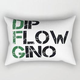 Dip, Flow, Gino Rectangular Pillow